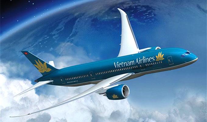 ve may bay di han quoc vietnam airlines
